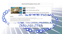 Real Estate application startup view